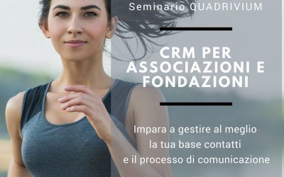 Seminario – CRM per il Terzo Settore