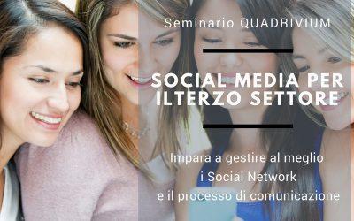 Seminario Social Media per il Terzo Settore